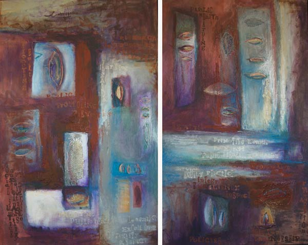 New Ground Diptych